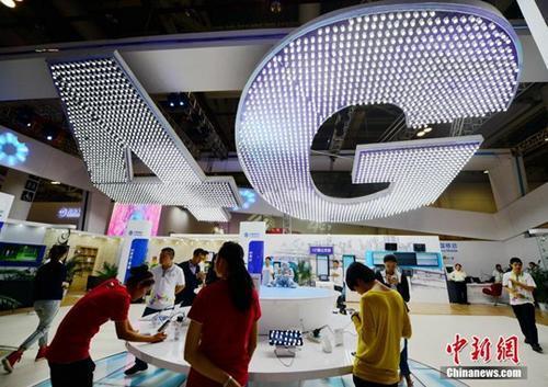 资料图:4G网络。 <a target='_blank' href='http://www.chinanews.com/'>中新社</a>记者 张斌 摄